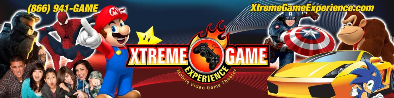 Xtreme Game Experience – Washington DC Metropolitan Virginia Maryland Video Game Truck Party